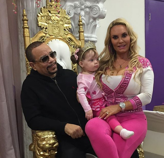 ICE-T AND COCO AUSTIN CELEBRATE DAUGHTER'S SECOND BIRTHDAY