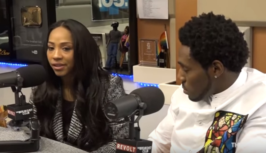 TERRICKA AND ANTONIO CROMARTIE TALK REARING 14 KIDS WITH 'THE BREAKFAST CLUB'