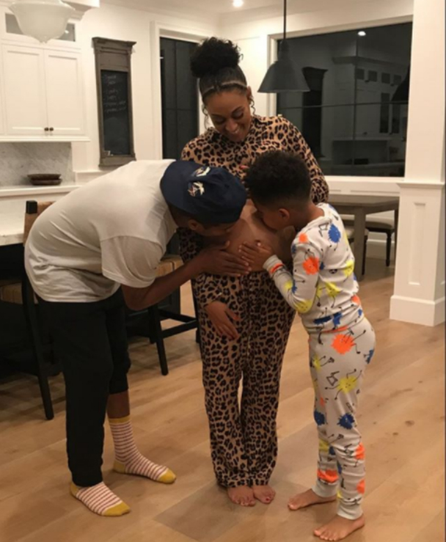 TIA MOWRY AND HUSBAND EXPECTING SECOND CHILD