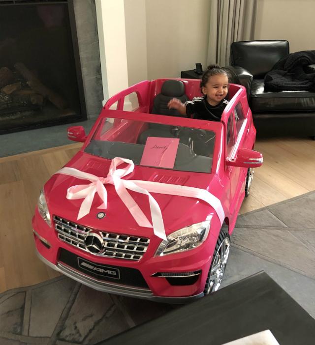 DREAM KARDASHIAN CELEBRATES HER BIRTHDAY WITH DAD