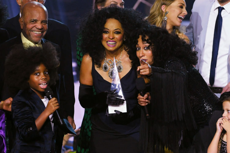 IT WAS DIANA ROSS' NIGHT AT THE AMERICAN MUSIC AWARDS BUT HER GRANDSON STOLE THE SHOW