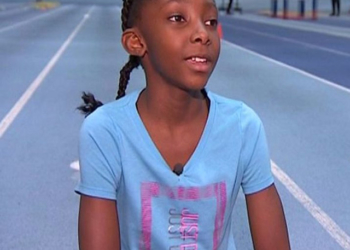 BRITAIN'S FASTEST 10-YEAR-OLD IS DREAMING OF OLYMPIC GOLD