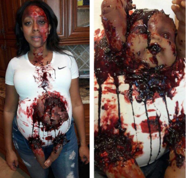 HOT TOPIC: KIJAFA VICK'S HALLOWEEN GETUP STIRS CONTROVERSY