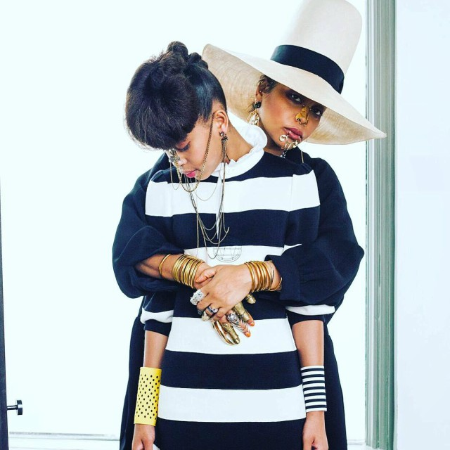 ERYKAH BADU AND DAUGHTER POSE FOR 'VOGUE: MEXICO'
