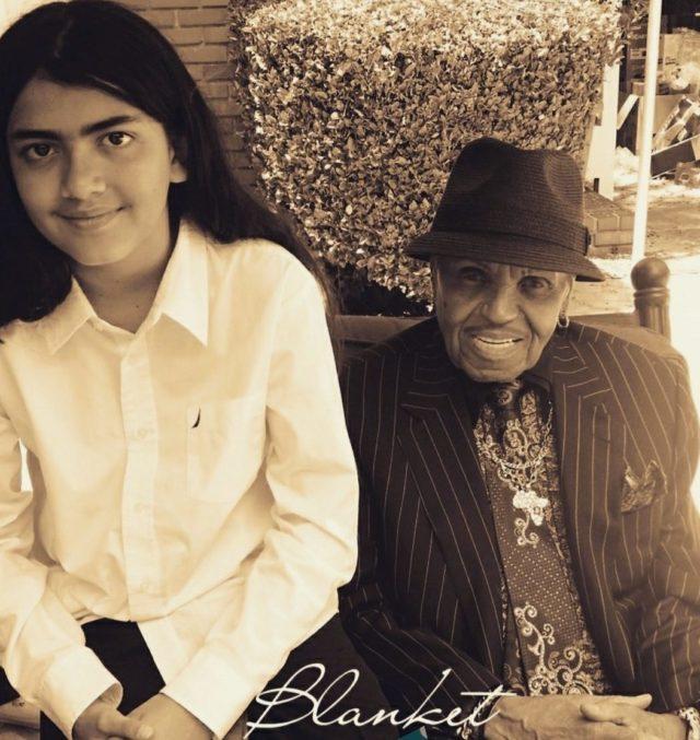 JOE JACKSON TO GRANDSON BLANKET JACKSON: 'YOU'RE LIKE YOUR FATHER'