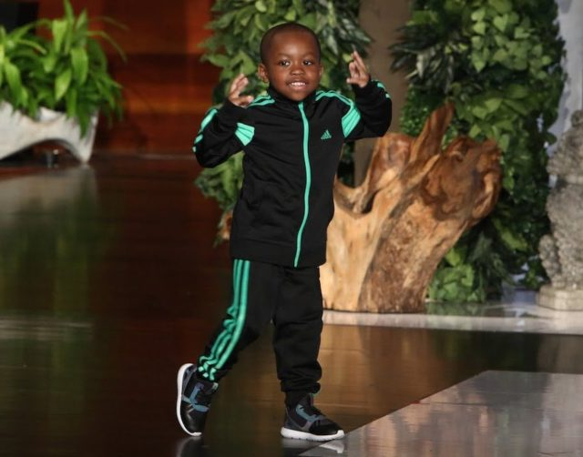 KID DANCER TAVARIS JONES RETURNS TO THE ELLEN SHOW AND IS KEEN ON BECOMING A FATHER