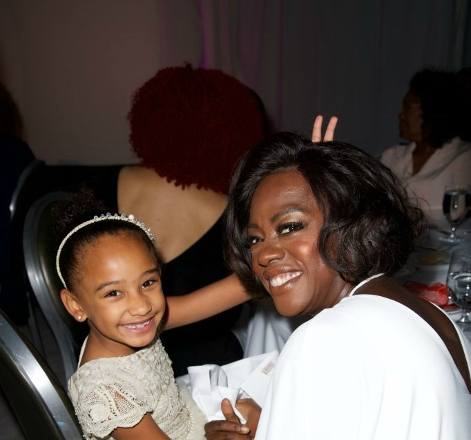 MOMMY DO-GOODER VIOLA DAVIS HONORED FOR PHILANTHROPY WORK AT JUST LIKE MY CHILD FOUNDATION GALA