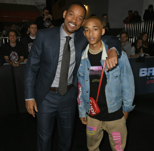 WILL SMITH AND SON HEADLINE LOS ANGELES PREMIERE OF 'BRIGHT'