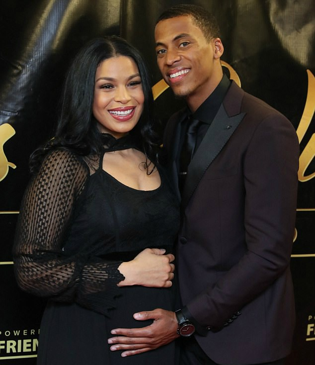 JORDIN SPARKS AND HUSBAND BUMP AROUND ONE NIGHT WITH THE STARS BENEFIT IN NY