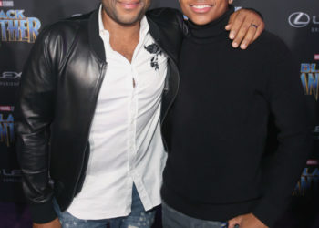 ANTHONY ANDERSON AND SON ATTEND 'BLACK PANTHER' PREMIERE