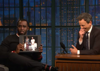 SEAN COMBS GUSHES ABOUT SON TO SETH MEYERS