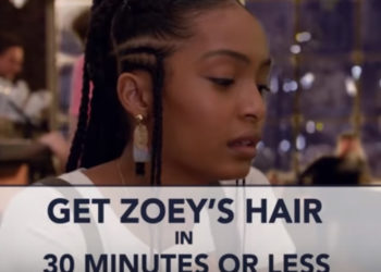 'GROWN-ISH' STYLE: GET ZOEY'S HAIR IN 30 MINUTES