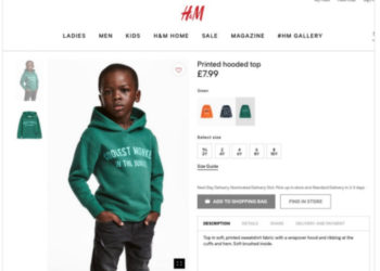 H&M APOLOGIZES FOR RACIALLY INSENSITIVE AD OF AFRICAN-AMERICAN BOY WEARING 'COOLEST MONKEY IN THE JUNGLE' HOODIE