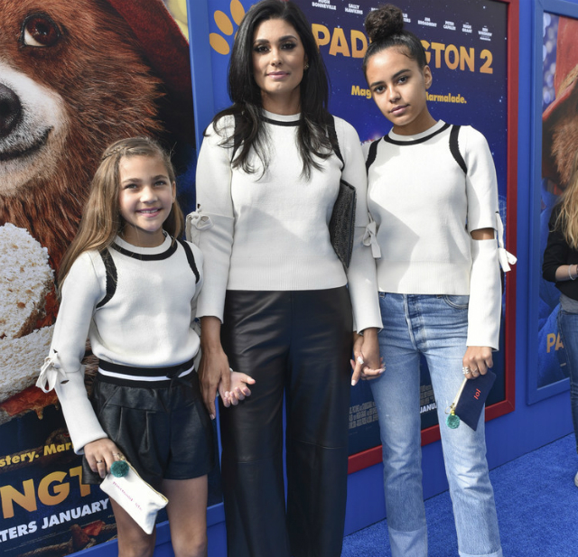 RACHEL ROY AND HER DAUGHTERS WERE MATCHING CUTIES AT THE 'PADDINGTON 2' PREMIERE