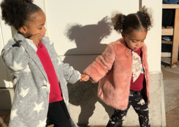 GET THE LOOK: CAI AND CADENCE BRIDGES STAY WARM IN SOME CHIC COATS