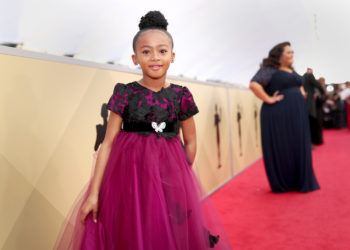 MARSAI MARTIN, LONNIE CHAVIS AND MORE YOUNG STARS ATTEND THE SAG AWARDS
