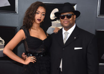 CELEBS AND THEIR KIDS ATTEND THE 60TH ANNUAL GRAMMY AWARDS