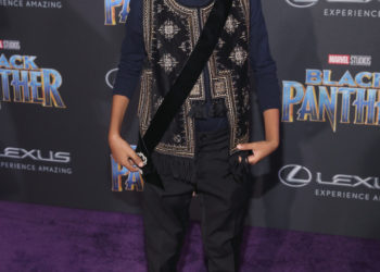 MARSAI MARTIN, YARA SHAHIDI, STORM REID AND MORE ATTEND BLACK PANTHER PREMIERE