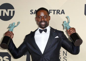 HOW DID STERLING K. BROWN'S SON RESPOND TO HIS FATHER MAKING WAVES AT THE 2018 SAG AWARDS?
