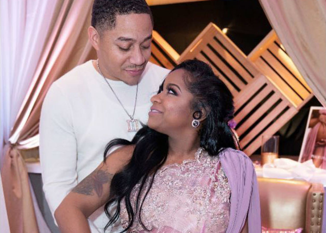 TOYA WRIGHT AND ROBERT RUSHING CELEBRATE THE IMPENDING BIRTH OF THEIR DAUGHTER
