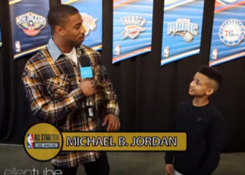 ELLEN DEGENERES SENT HER FAVORITE KID TRAINER TO COVER ALL-STAR WEEKEND