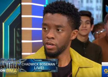 CHADWICK BOSEMAN TALKS 'BLACK PANTHER' WITH GMA