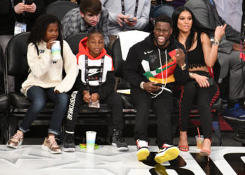 KEVIN HART AND THE FAMILY HAD AN ALL-STAR WEEKEND
