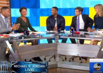 MICHAEL B. JORDAN SAYS 'BLACK PANTHER' IS A MOVEMENT