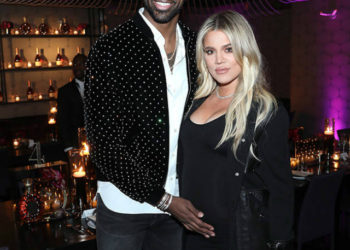 KHLOE KARDASHIAN AND TRISTAN THOMPSON STOP BY NBA ALL-STAR WEEKEND