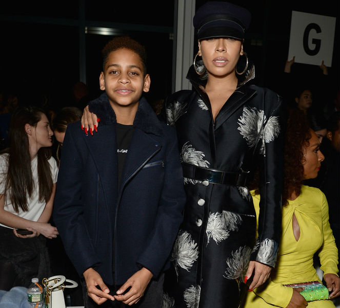 LA LA ANTHONY AND SON TAKE OVER NEW YORK FASHION WEEK