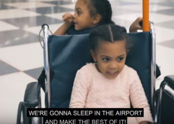 THE MCCLURE TWINS WERE STRANDED AT THE AIRPORT AFTER ROOKIE USA FASHION SHOW