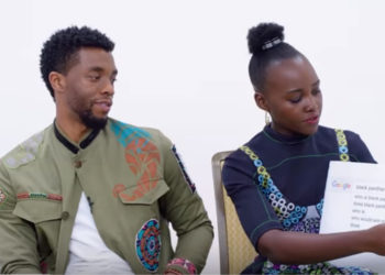 THE CAST OF 'BLACK PANTHER' ANSWER SOME OF THE INTERNET'S BURNING QUESTIONS