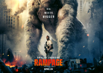 'RAMPAGE' COMES TO THEATERS IN APRIL