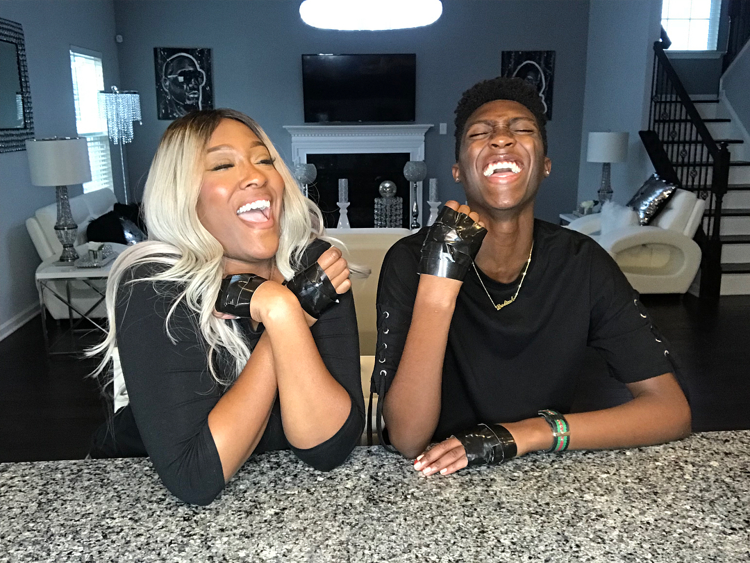 Like Mother Like Son:  SWV's Coko is Joined In Song By Her Son Jayye Michael [VIDEO]