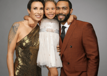 OMARI HARDWICK, MAYWEATHER, AND STEPHEN CURRY CELEBRATE WITH THEIR KIDS