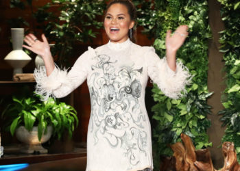 CHRISSY TEIGEN REVEALS HER DUE DATE