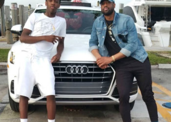DWYANE WADE GIFTS HIS SON WITH A AN AUDI SUV FOR HIS 16TH BIRTHDAY
