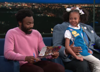 VIRAL SINGING SENSATION GIRL SCOUT GETS SURPRISE FROM DONALD GLOVER