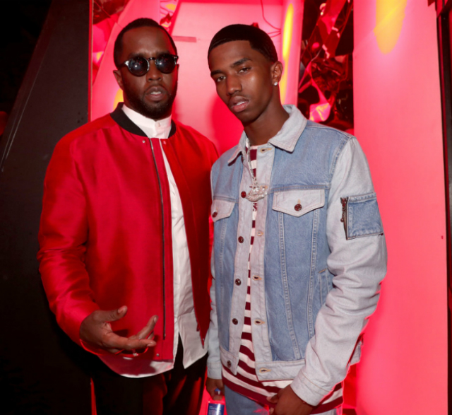 DIDDY AND CHRISTIAN COMBS ATTEND THE 2018 IHEART RADIO MUSIC AWARDS