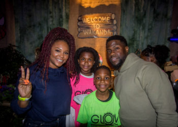 KEVIN AND TORREI HART GIVE THEIR DAUGHTER A 'BLACK PANTHER' THEMED BIRTHDAY PARTY