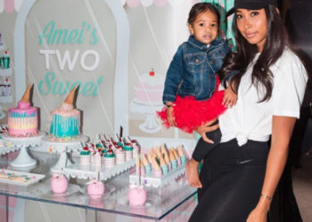 APRYL JONES AND OMARION CELEBRATE THEIR DAUGHTER'S SECOND BIRTHDAY