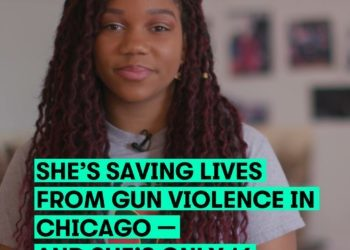 THIS SIXTEEN-YEAR-OLD IS SAVING GUN VIOLENCE VICTIMS IN CHICAGO