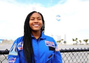 ASPIRING ASTRONAUT, TAYLOR RICHARDSON, IS DOING HER PART TO EMPOWER YOUNG GIRLS OF COLOR