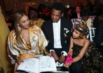 PHOTOS: BEYONCE, JAY-Z AND DAUGHTER BLUE IVY CARTER ATTEND THE 2018 WEARABLE ART GALA