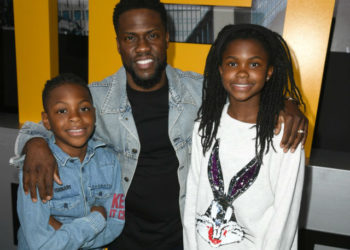 KEVIN HART AND KIDS ATTEND 'PACIFIC RIM: UPRISING' PREMIERE IN HOLLYWOOD