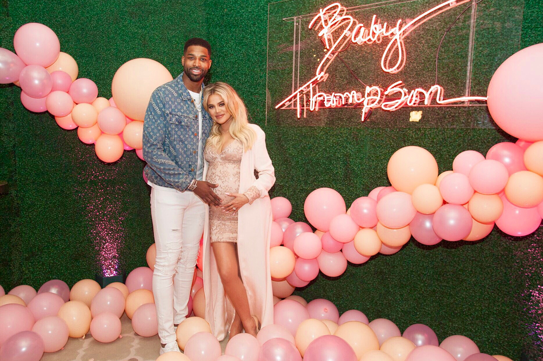 KHLOE KARDASHIAN AND TRISTAN THOMPSON CELEBRATE WITH A BABY SHOWER