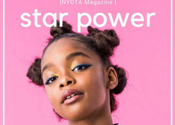 STAR POWER! MARSAI MARTIN COVERS NYOTA MAGAZINE