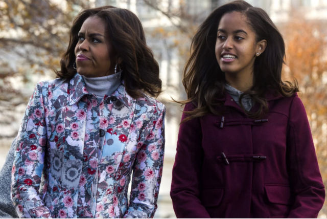 MICHELLE OBAMA SAYS MALIA OBAMA IGNORED THIS ONE PIECE OF ADVICE