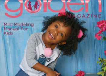 COVER STARS: YANDY SMITH'S DAUGHTER AND DIDDY'S NEPHEW COVER 'GOLDEN MAGAZINE'