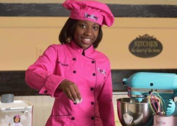 TWELVE-YEAR-OLD CHEF SIMONE BRIDGES IS A FOOD GODDESS